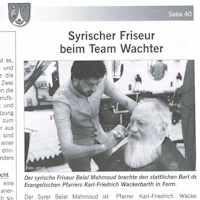 Friseur Wachter, Priener Marktblatt April 2018